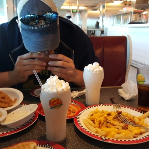 Our first time trying Jonny rockets