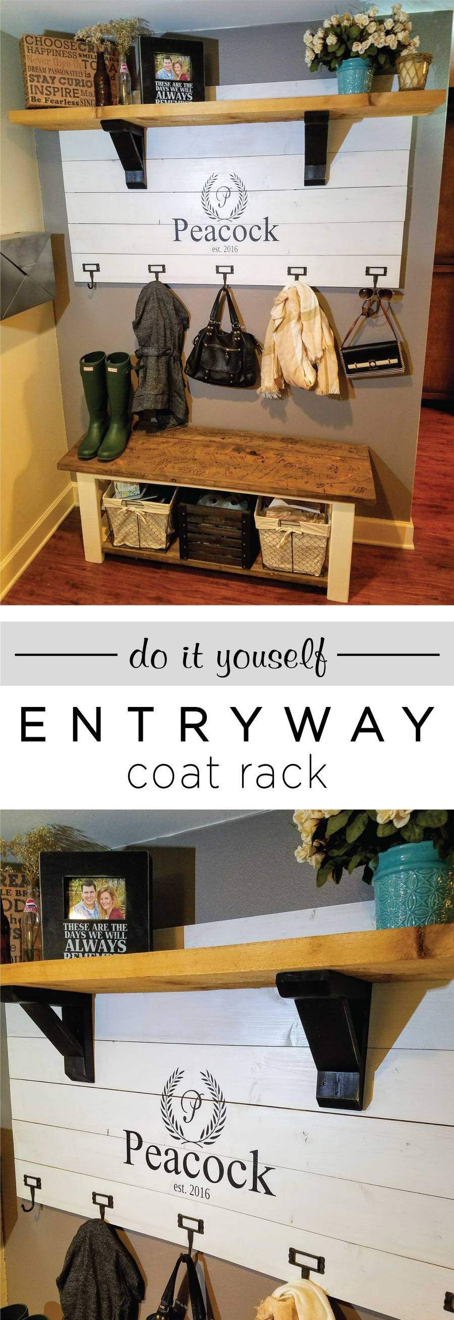 DIY-Wooden-Entryway-Coat-Rack